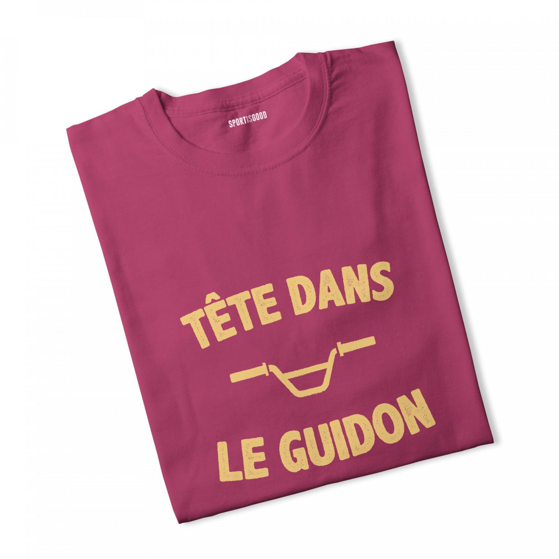 T-shirt fille Tête dans le guidon