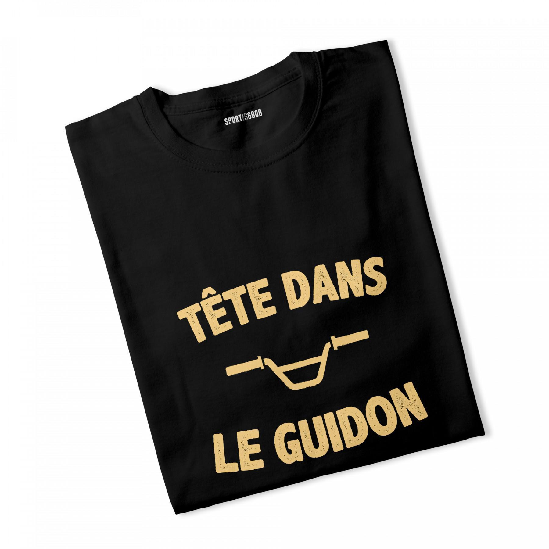 T-shirt garçon Tête dans le guidon