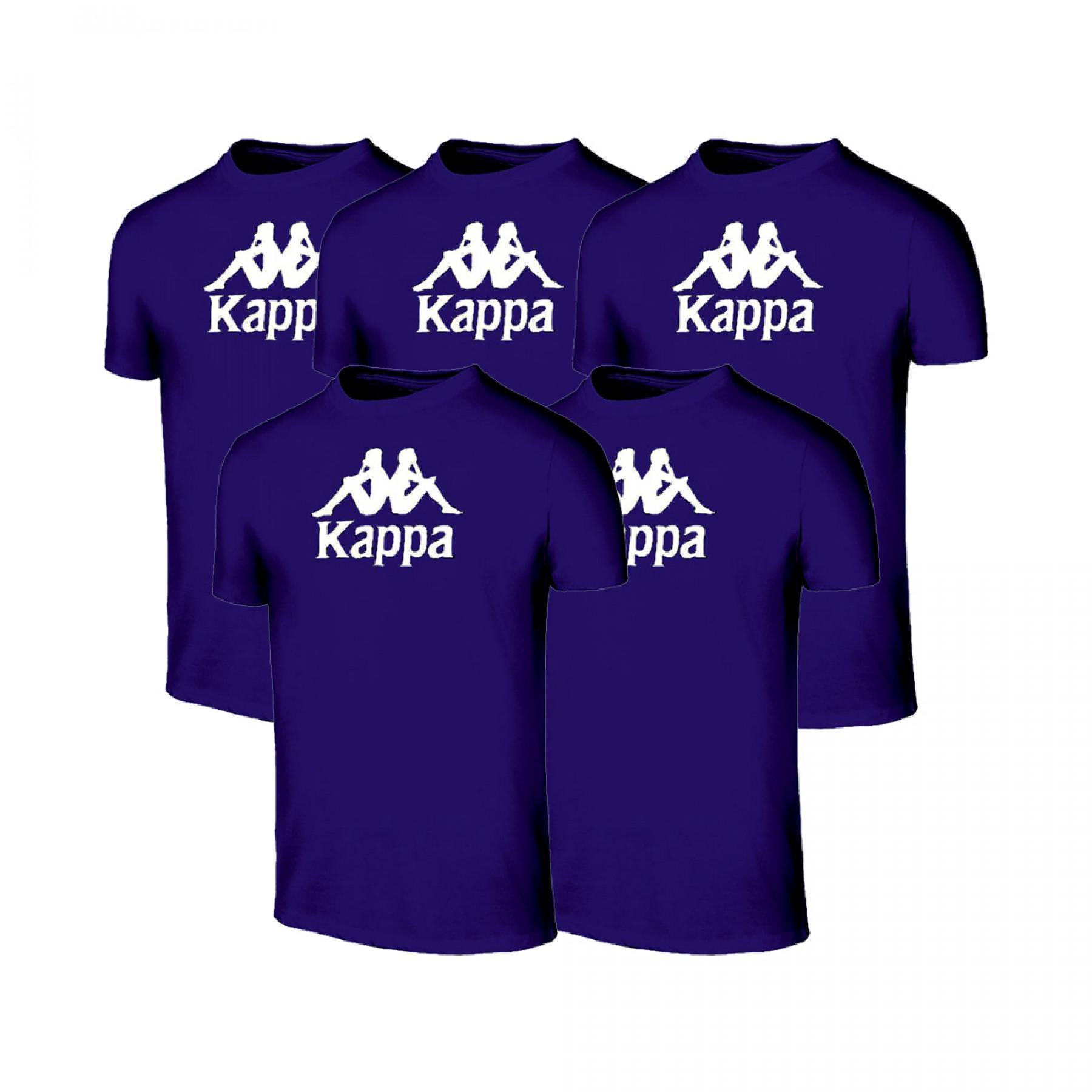Lot 5 t-shirts Kappa Mira