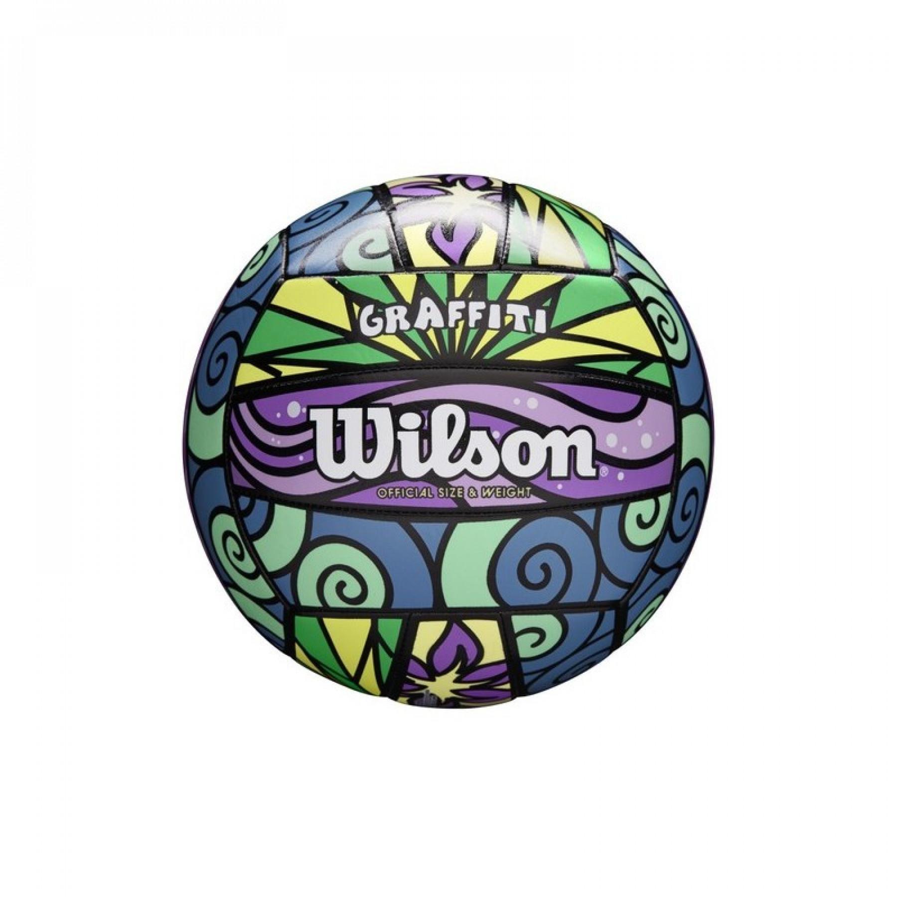 Wilson Beach-Volley Ball Graffiti