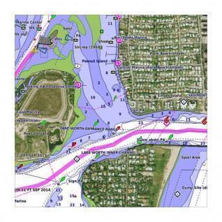 Garmin veu509s-danube river map