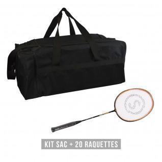 Racquet kit (bag + 20 racquets) Sporti France Hard Training