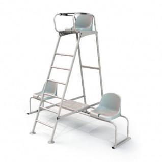 Single steel referee chair Sporti France