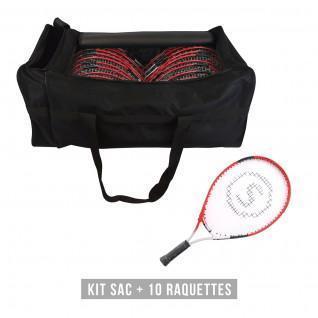 Kit snowshoes (bag + 10 snowshoes) child Sporti France JR T600 21'