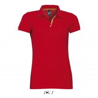 Women's polo shirt Sol's Patriot