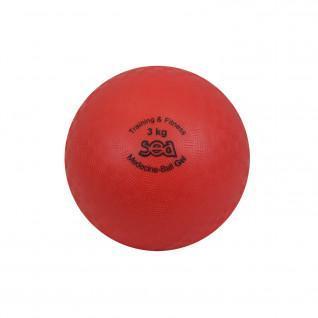 Medicine ball gel 3kg Sporti France Sea