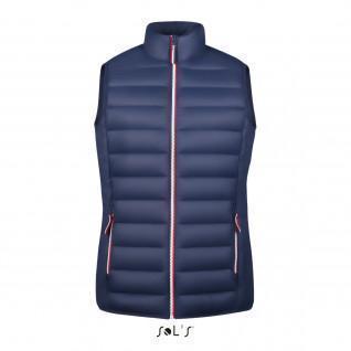 Women's sleeveless jacket Sol's Victoire Bw