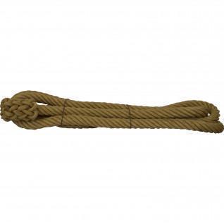 Smooth hemp rope size 10 m, diameter 35mm Sporti France