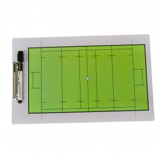Two-sided rugby tactical notebook Sporti France