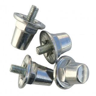 Aluminium cylindrical crampons blister pack of 12 aluminium/16mm crampons Sporti France