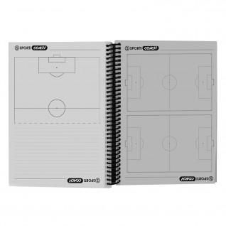 Spiral football coach booklet a5 Sporti France
