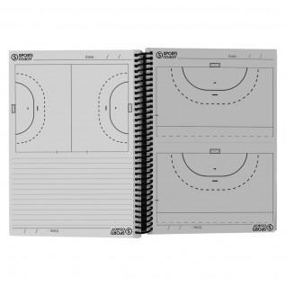 Spiral handball coach booklet a5 Sporti France