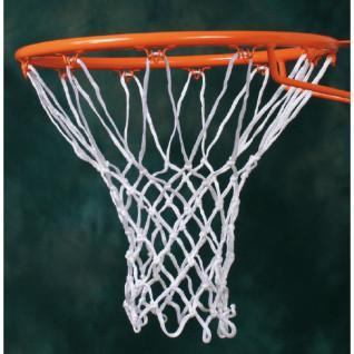 Pair of 6mm nylon (polyamide) basketball nets Sporti France