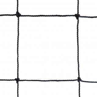 Volleyball training net 9.50x1m pe cabled 2mm single mesh 100 steel cable Sporti France