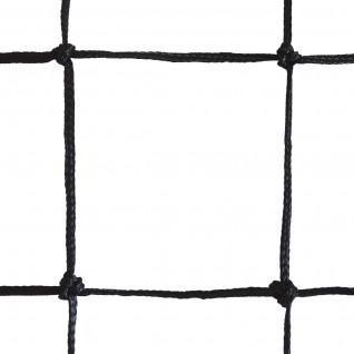 Volleyball training net 9.50x1m pe braided 3mm single mesh 100 steel cable Sporti France