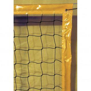 Beach volleyball net 9.50x1m pe cabled 3mm simple mesh 100 cord Sporti France