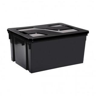 Storage bin with lid 20l Sporti France