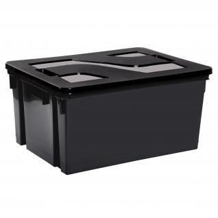 Storage bin with lid 50l Sporti France