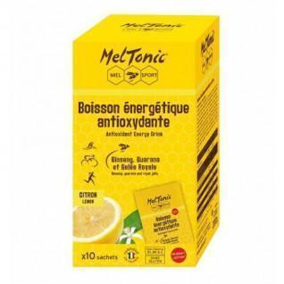 10 Sachets of Meltonic Antioxidant Energy Drink - Lemon