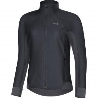 Women's long sleeve jersey Gore R3 Partial Windstopper