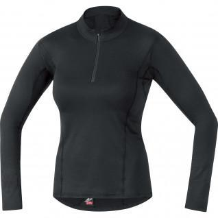 Gore M Thermo women's 1/4 zip long sleeve jersey