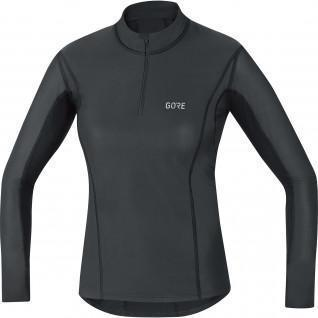 Women's Gore M Windstopper® Thermo 1/4 zip long sleeve jersey