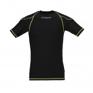 Protective undershirt Uhlsport manches courtes noir/jaune fluo