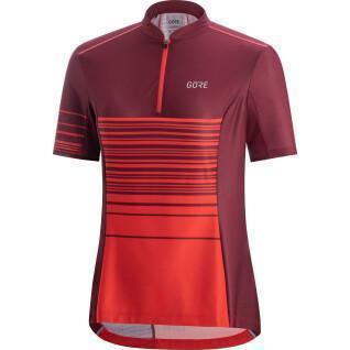 Women's Gore C3 Striped Zip Jersey
