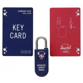 Herschel padlock tsa card lock