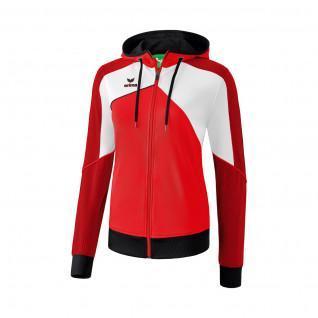 Training Jacket with hood woman Erima Premium One 2.0