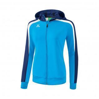 Track Jacket woman Erima Liga 2.0 with hood