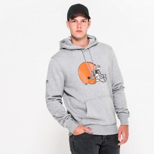 New Era Hoodie with Cleveland Browns Team Logo