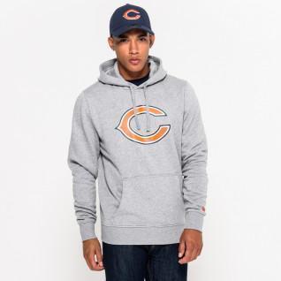 Sweat   capuche New Era  avec logo de l'équipe Chicago Bears