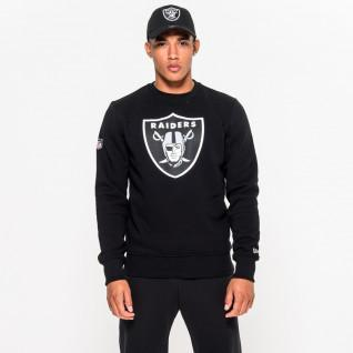 Neck sweater with Oakland Raiders team logo