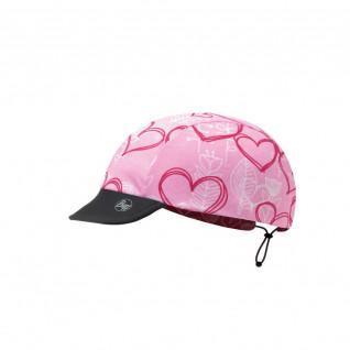 Children's cap Buff pink love