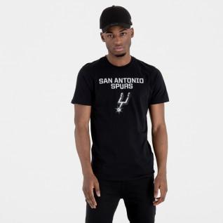 New Era T-shirt with San Antonio Spurs logo