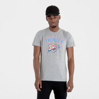 New Era logo Oklahoma City Thunder T-shirt