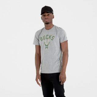Milwaukee Bucks New Era Logo T-Shirt