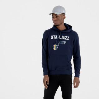 New Era Hoody with Uath Jazz Team Logo