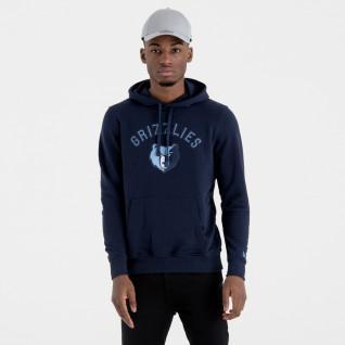 New Era Hoodie with Memphis Grizzlies Team Logo