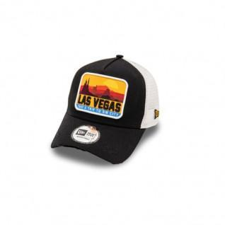 New Era Distressed Vegas 940 Trucker Cap