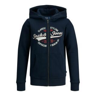 Children's zip-up sweatshirt Jack & Jones Logo