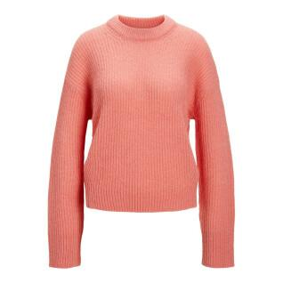Women's long sleeve sweater Jack & Jones ember solid