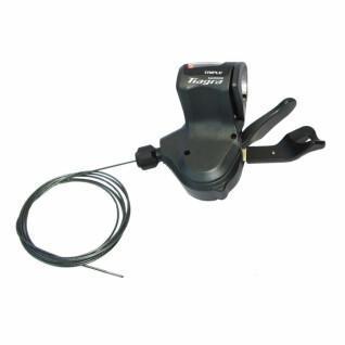 Left handlebar lever for flat handlebars Shimano sl-4703 tiagra rapidfire plus 3v1800 mm