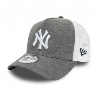 New Era Yankees Jersey 9forty Trucker Cap