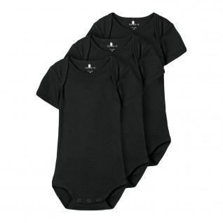 Set of 3 baby bodysuits Name it