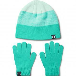 Girl Hat and Glove Under Armour