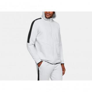 Under Armour Fleece Jacket Full Zip Recover