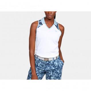 Under Armour Zinger Blocked Women's Sleeveless Polo Shirt