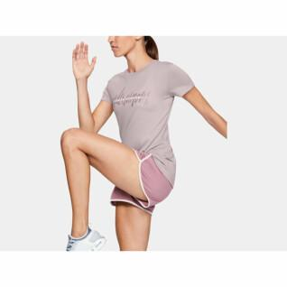 T-Shirt Crew Neck Woman Under Armour Tech ™ Branded Fit Kit